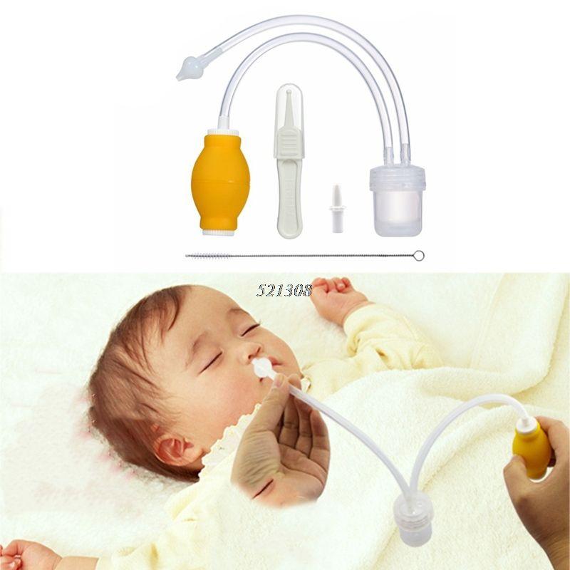 2017 neue Aspirador Nasensauger Neugeborenen Baby Sicherheit Vakuum Saug Nase Reiniger + Medizinische Pinzette Infant Rotz Sucke APR12_30