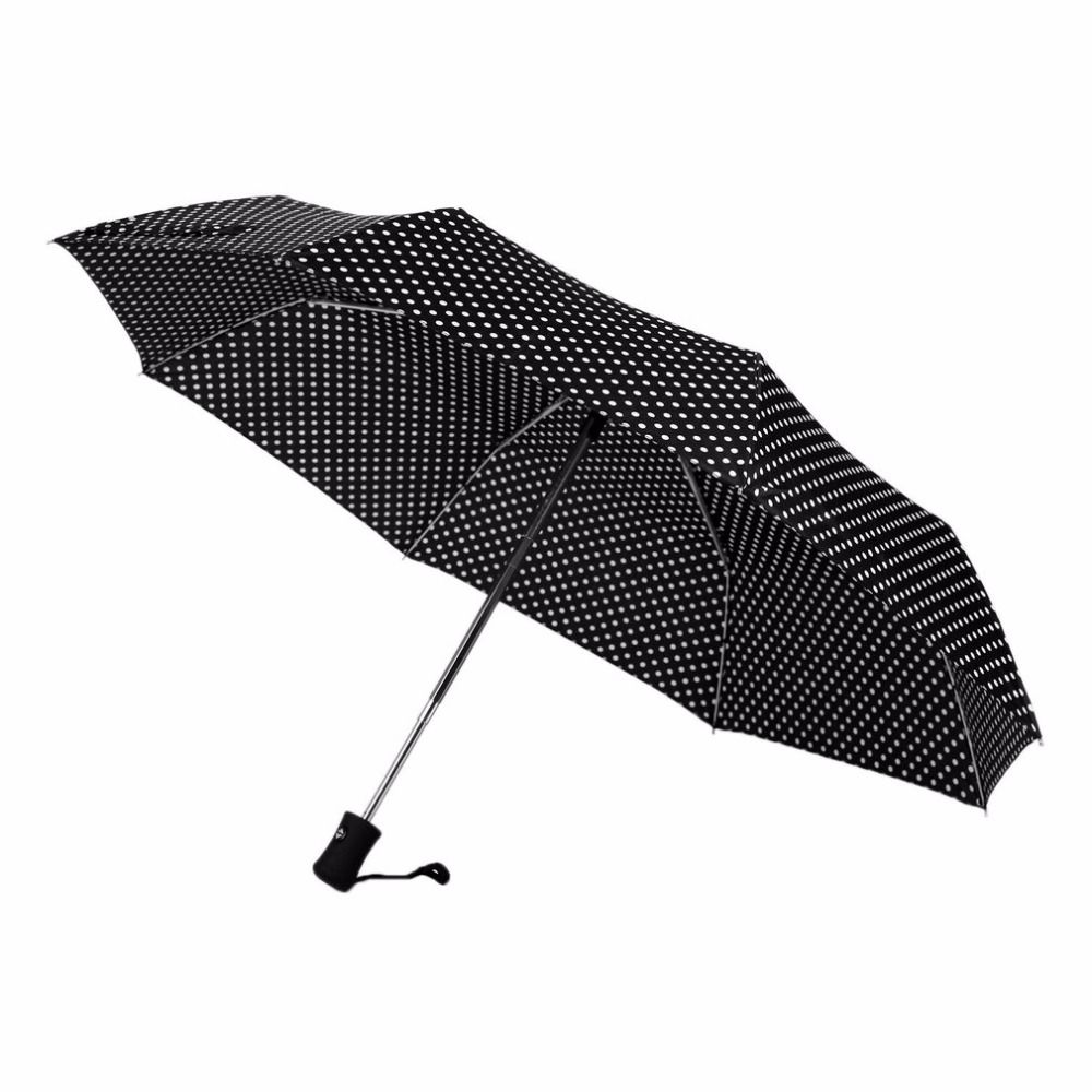 5 Color Umbrellas Three Folding 8K Sunny And Rainy Umbrella Wind Resistant Automatic Advertising Outdoor All Season Parasol
