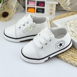 Nueva Zapatos de bebé lona transpirable Zapatos 1-3 años Niños Zapatos 4 Color cómodo Niñas bebé sneakers niños niño zapatos