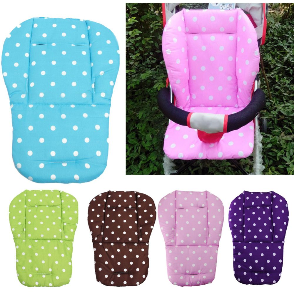 5 Colors Baby Stroller Seat Cushion Pushchair High Chair Pram Car Soft Mattresses Baby Carriages Seat Pad Stroller Mat Accessory