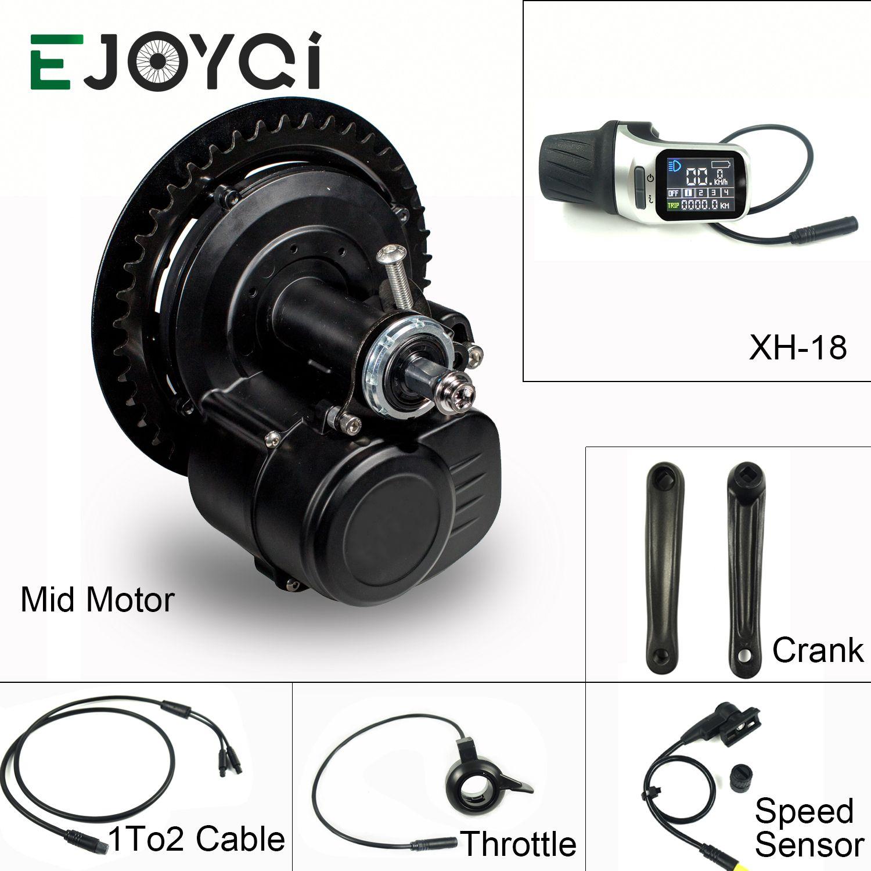 EJOYQI Tongsheng TSDZ2 36V 48V 250W 350W 500W DIY Fahrrad Umwandlung Ebike Mitte Drive Kit motor Drehmoment Sensor Elektrische Bike Kit
