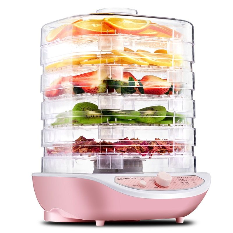 Fruit Dehydrator Vegetable Herb Meat Drying Machine Snacks Small Food Dryer 5 Layer Good Package