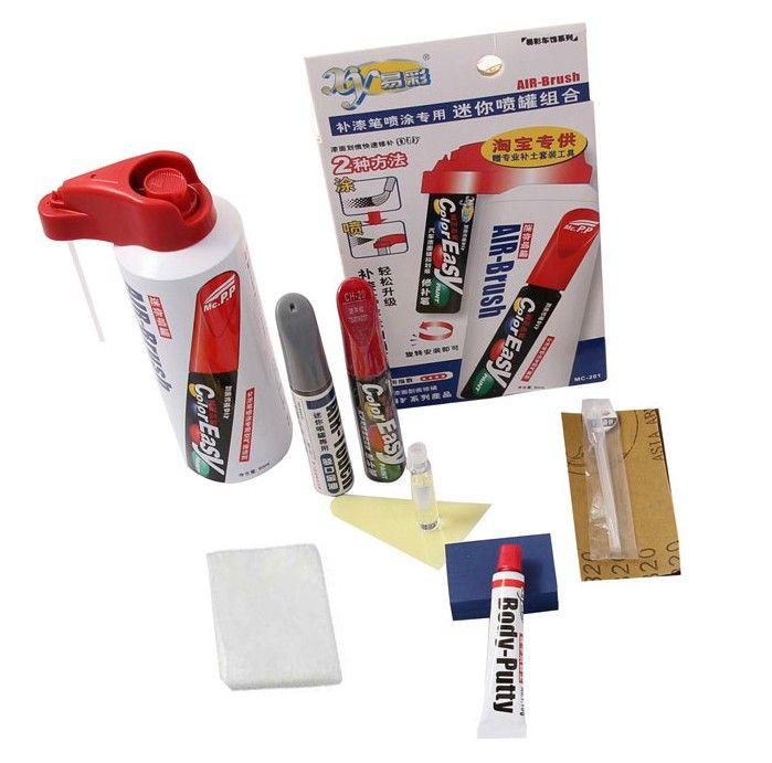 Car scratch repair pen, auto paint pen and tools for Toyota Vios Corolla Reiz vois highlander Crown RAV4 Camry Yaris