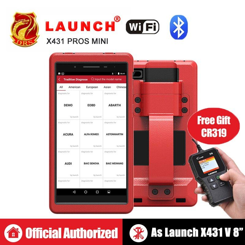 Starten X431 Pro Profis mini OBD2 Diagnose WiFi Bluetooth OBDII Diagnose Scanner ECU Codierung Automotive Werkzeuge wie Launch x431 V 8
