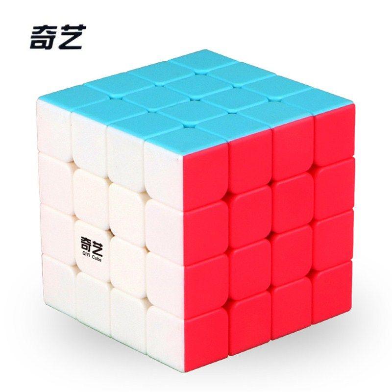 2017 Nouveau QiYi Yuans S 4x4 Magic Cube Puzzle Vitesse Cube