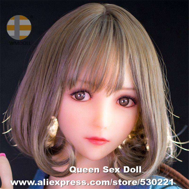 WMDOLL Top Qualität Japanischen Realistische Sex Puppen Köpfe Echt TPE Oral Sexy Kopf Für Silikon Liebe Puppe Spielzeug Für Erwachsene Fit 140-170 cm