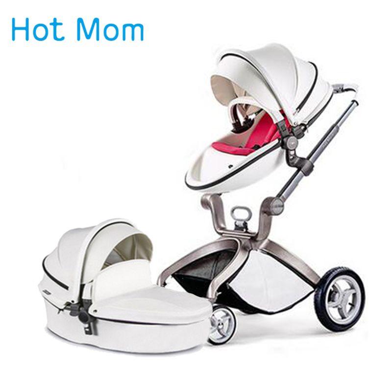 Hotmom baby kinderwagen Hoch landschaft kinderwagen 2 in 1 3 in 1 Russland Kostenloser versand