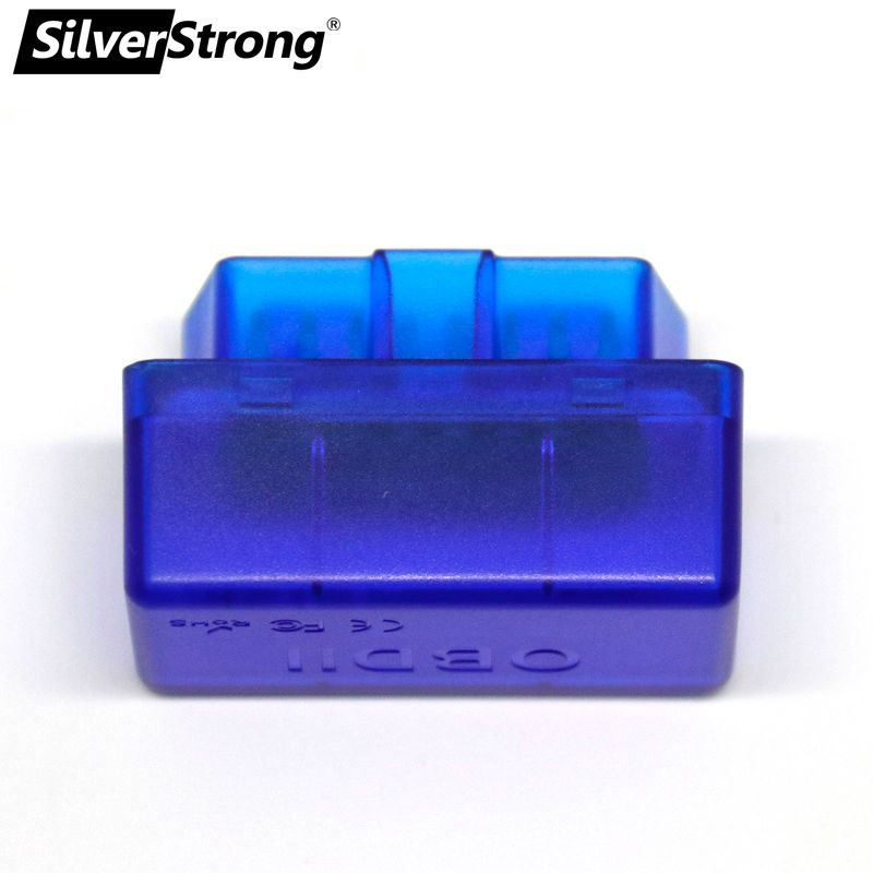 SilverStrong Universal Car OBD2 ELM327 V1.5 V2.1 Bluetooth Auto Scanner OBDII Car ELM 327 On Board Diagnostic Tool for Android