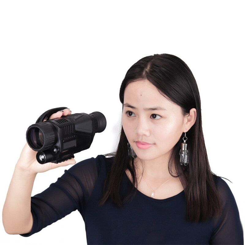 digital monocular infrared night vision goggles 5X40 night vision Gift Takes Photos Video with TFT LCD for hunting