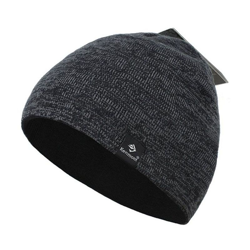 2017 Kenmont Fashion Scuff Casual Slouch  Black Men Women Beanie