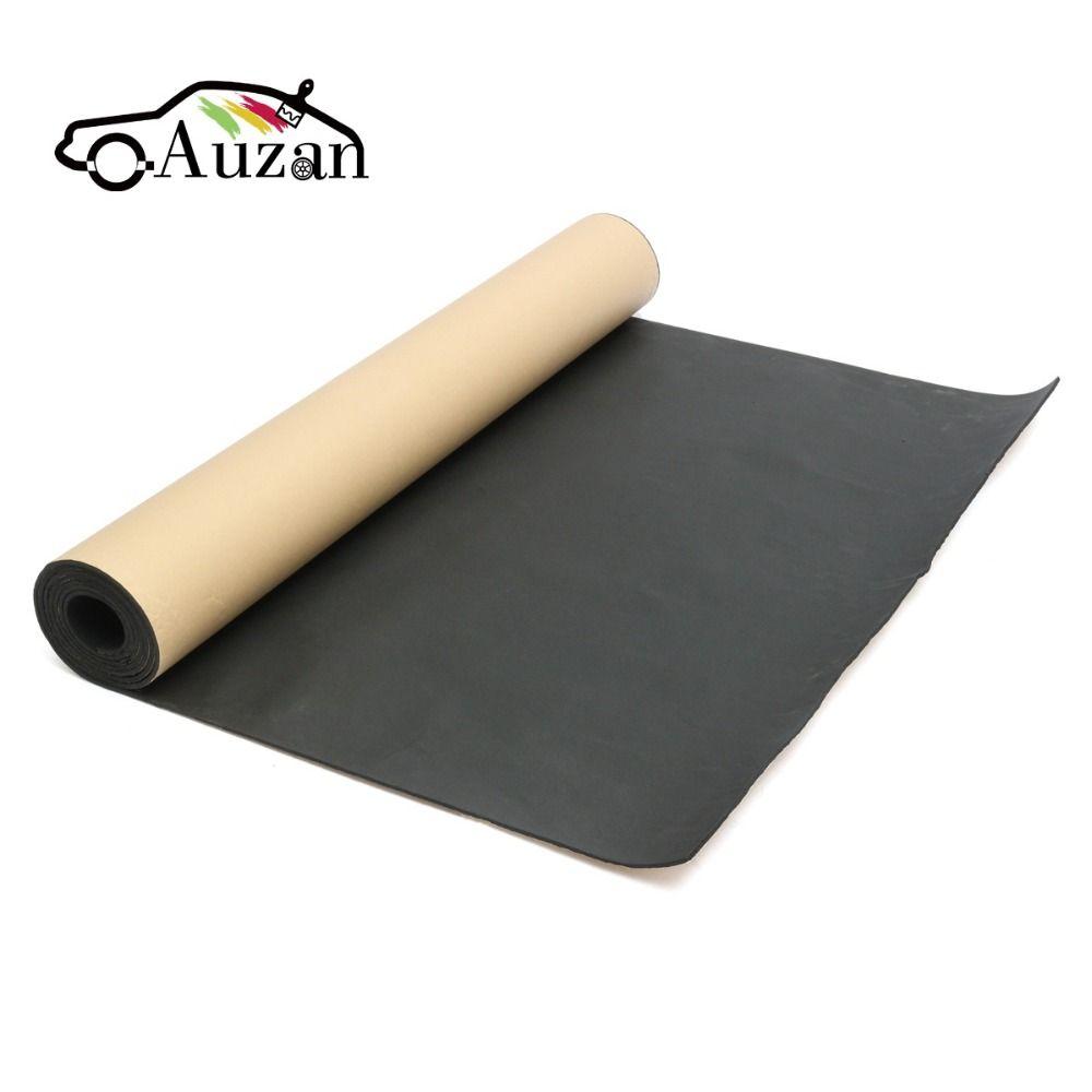 100cmx200cm Roll 5mm Car Sound Heat Insulation Cotton Sound-proofing Deadening Insulation Foam Mat Acoustic Panel
