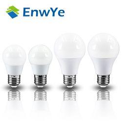 EnwYe LED lampe SMD 2835 led E27 Ampoule 2 W 3 W 4 W 6 W 9 W 12 W 220 V Froid Blanc Chaud Led Spotlight Lampes Lampada Point Culminant