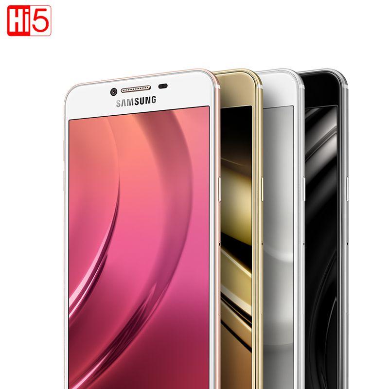 Samsung Galaxy C5 C5000 Handy 5,2 zoll Octa-core 4 GB RAM 32 GB/64 GB ROM LTE 16MP 2600 mAh Dual SIM LTE Android Smartphone