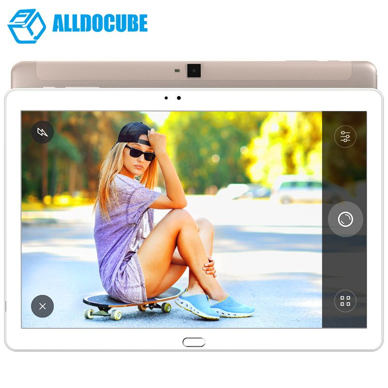 ALLDOCUBE Free Young X7 Fingerprint Tablet PC 10.1 inch 1920*1200 IPS Android 6.0 4G Phone Call MT8783V-CT Octa Core 3GB 32GB