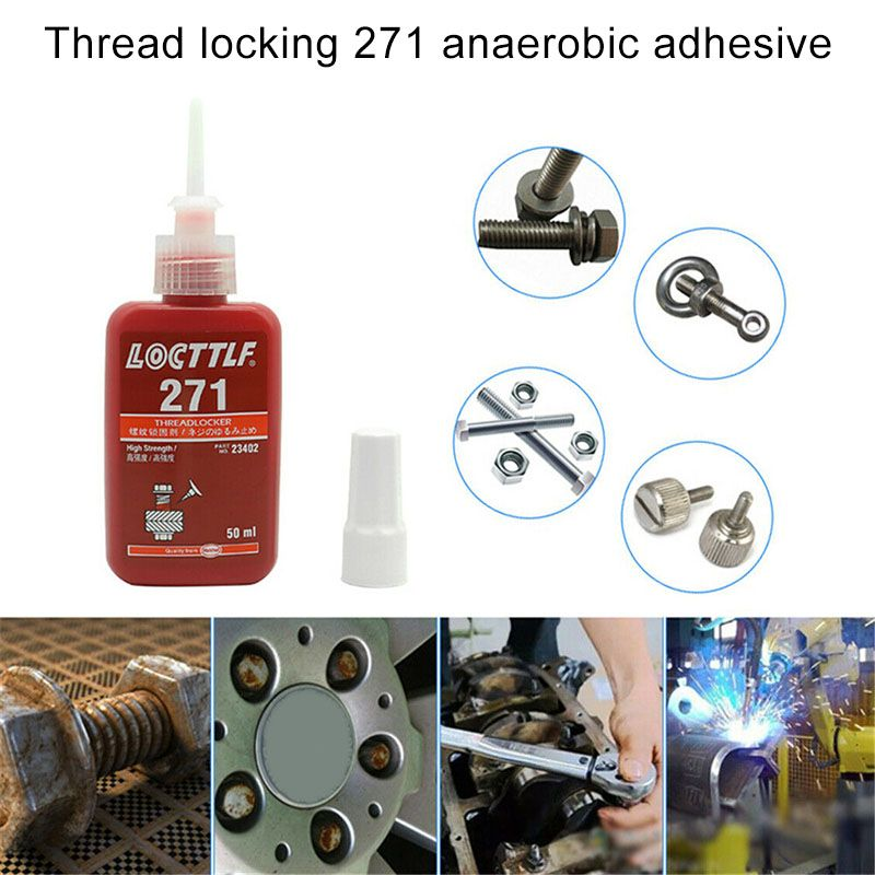 1 Pcs 271 High Strength Threadlocker Anaerobic Adhesive Glue Thread Locker _WK