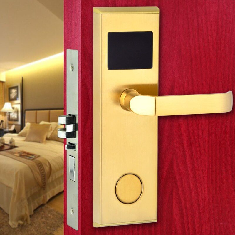 Smart Design RFID Card Digital Door Lock Intelligent Hotel Lock