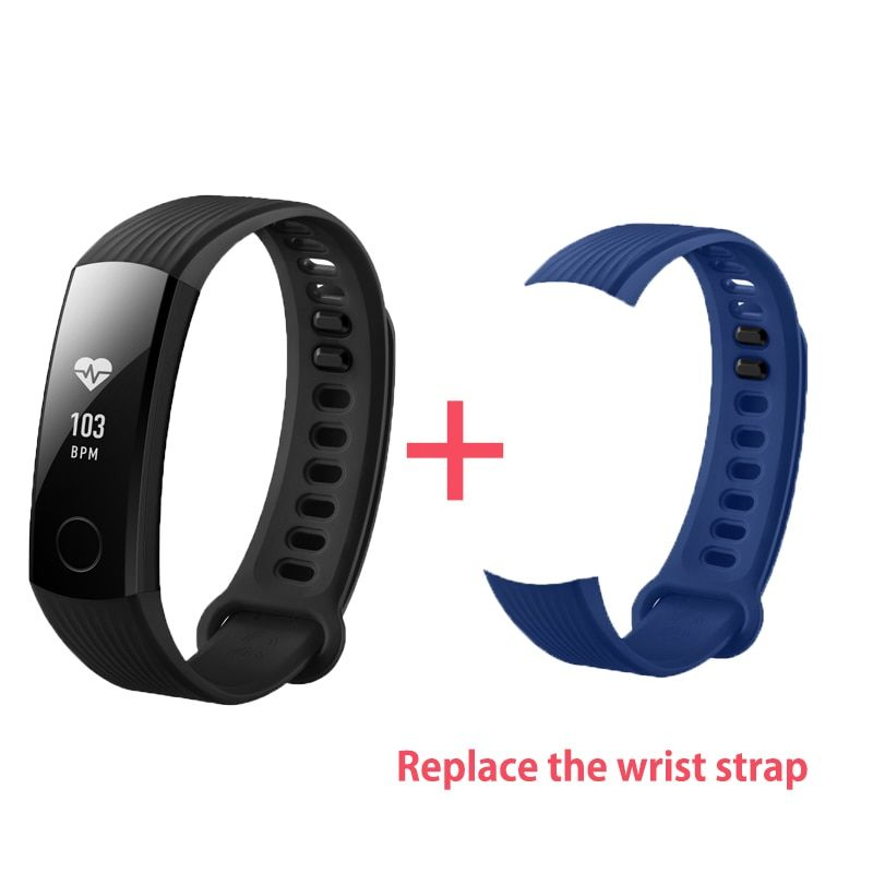 In Stock Original Huawei Honor Band 3 Smart Wristband Swimmable 5ATM 0.91