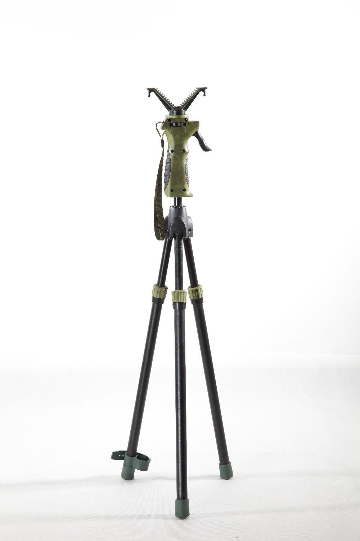 FieryDeer DX-004-02 180cm trigger Twopod camera scopes binoculars hunting stick shooting stickDeer Hunting Tree Stand gunrest