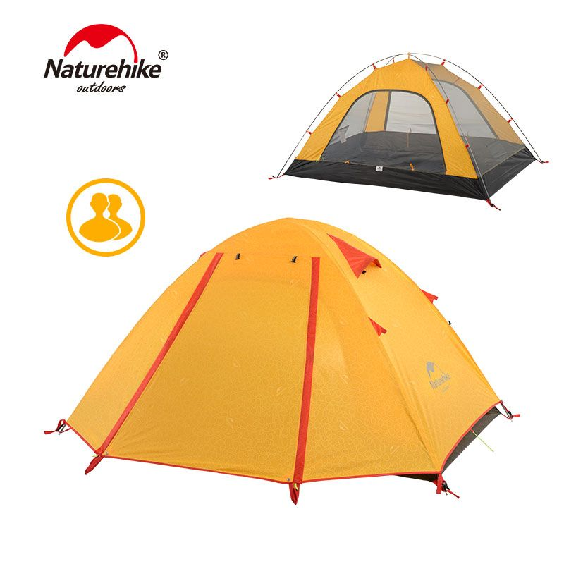 NatureHike P Series Classics Tent 210T Fabric For 2 Person NH15Z003-P