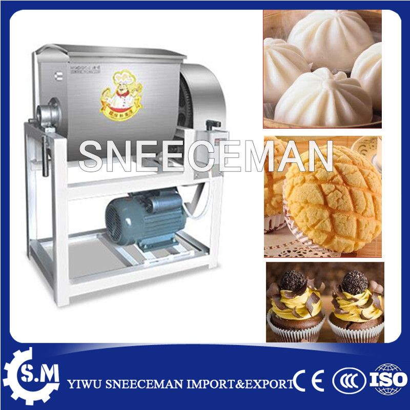 25kg Dough Kneading Machine Dough Kneader Dough Mixer for flour thin pastry hot sell high efficiency