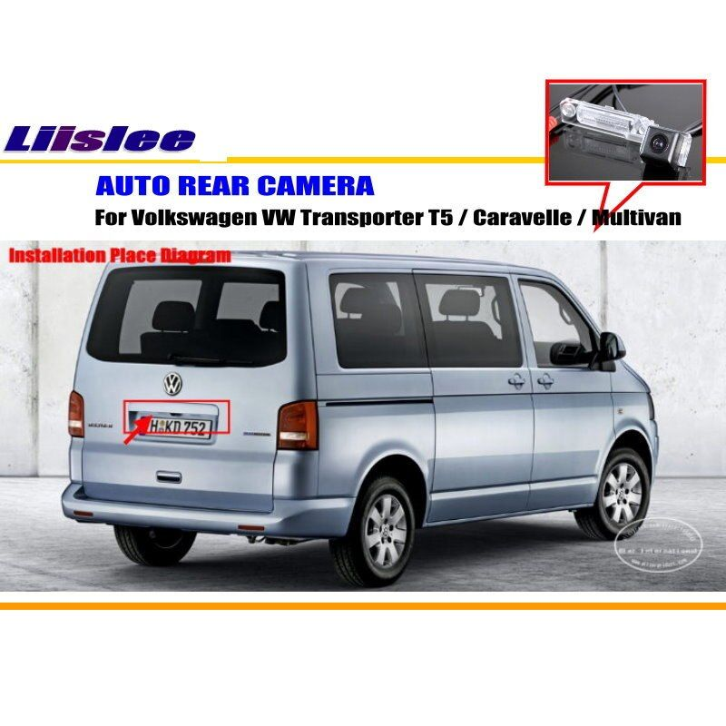 Liislee Reverse Rearview Camera For Volkswagen VW Transporter T5 Caravelle Multivan / HD CCD CAM / Night Vision Parking Camera
