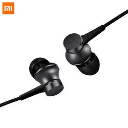 100% Original Xiaomi Earphone In -ear Earphones Piston Fresh Version colorful Earphones with Mic For Mobile Phone MP4 MP3 PC