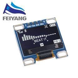 0.96 inch IIC Serial White OLED Display Module 0.96