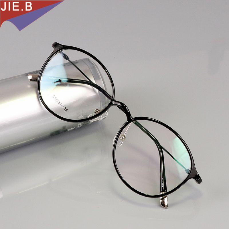 Vintage rond tungstène titane lunettes cadre hommes Ultem rond lunettes cadre femme ordinateur lunettes Prescription lunettes gafas