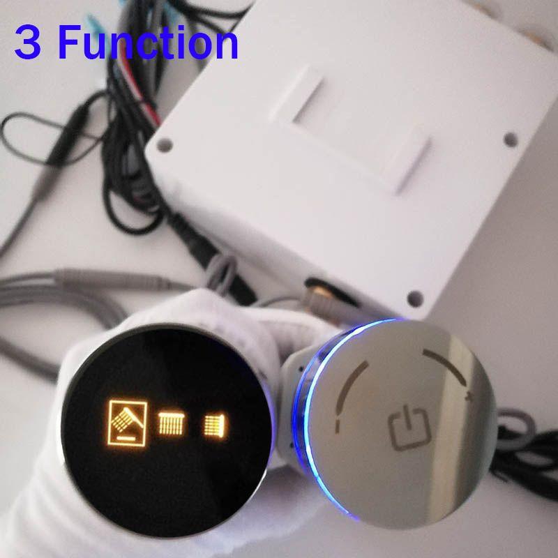 Smart Auto-Thermostat Dusche System Mixer Ventil LCD Display Dusche Panel Wand Verborgen Rotation Runde Knob Steuerung 2/3 Umsteller