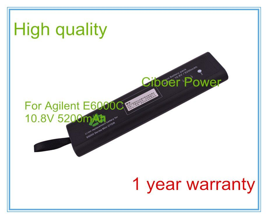 Replacement for NI1030AG E6000B E6000C E6080A E6000A E6000 Optical Time Domain Reflectometer (OTDR) battery