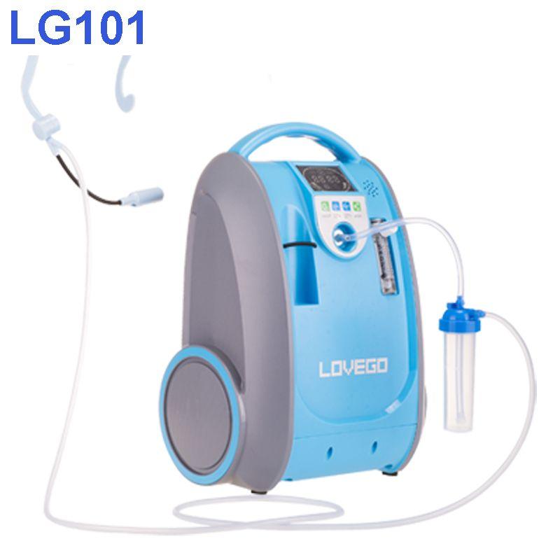 Mild und Medium bühne krankheit verbraucher verwenden 5 liter Lovego tragbaren sauerstoff konzentrator LG101