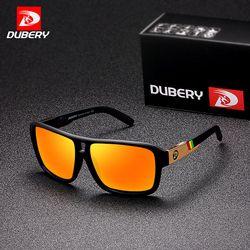 DUBERY männer Polarisierte Sonnenbrille Luftfahrt Fahren Sonnenbrille Männer Frauen Sport Angeln Luxus Marke Designer Oculos UV400