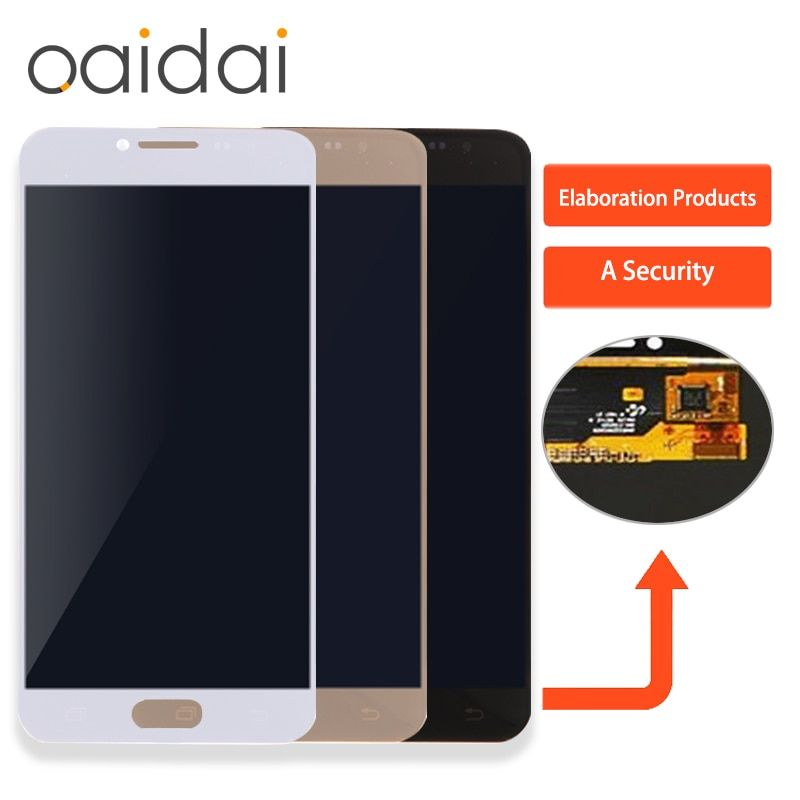 Super AMOLED LCD Display For SAMSUNG GALAXY C5 C5000 Touch Screen Digitizer Assembly Replacement Parts
