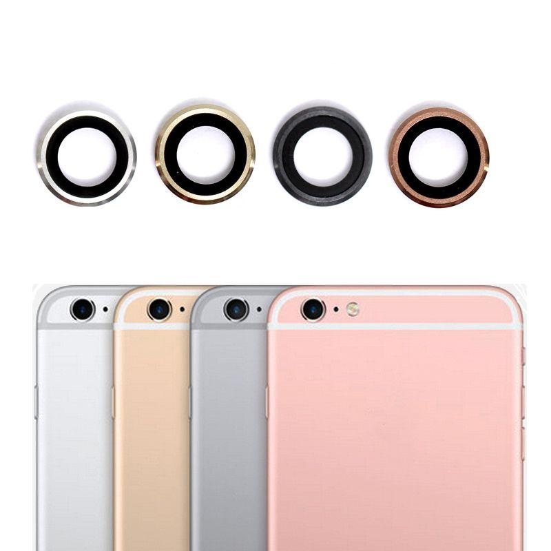 Neue Kamera Objektiv Für iPhone 6/6 s/6 Plus/6 s Plus Zurück Kamera Glaslinse mit Metallrahmen, freies Verschiffen & Tracking-nummer