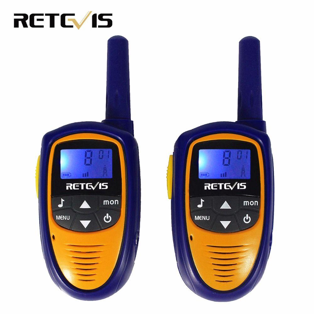 Mini Children Walkie Talkie Kids Radio Retevis RT31 0.5W PMR446 Frequency Portable VOX Handy Ham Radio Hf Transceiver