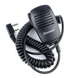 Mini microphone ptt président mic pour kenwood baofeng uv5r 888 s a52 puxing wouxun
