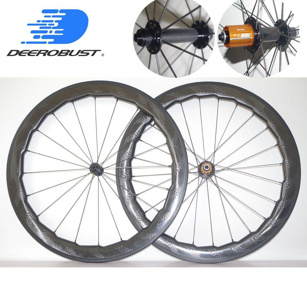 1482g Super Licht 700c 58mm x 26mm Grübchen Klammer Rennrad Carbon Räder Fahrrad Rad set Golf oberfläche Bitex SL Hubs