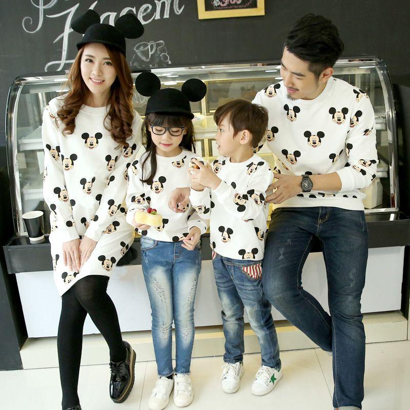 Nouveau printemps famille correspondant tenues bébé outwear mère et fils vêtements terry fabric enfants vêtements mère robe famille vêtements