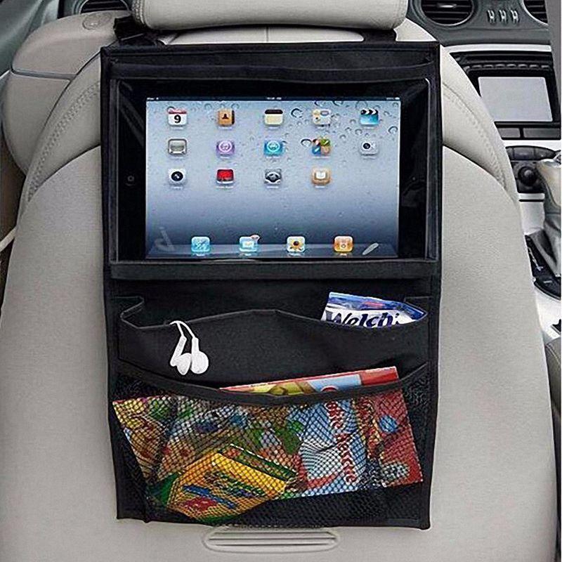 Siège de voiture iPad Suspendus Sac Titulaire Auto Back Seat Organisateur Interal Accessoires Accessoires de Rangement Rangement Voiture De Stockage Sacs