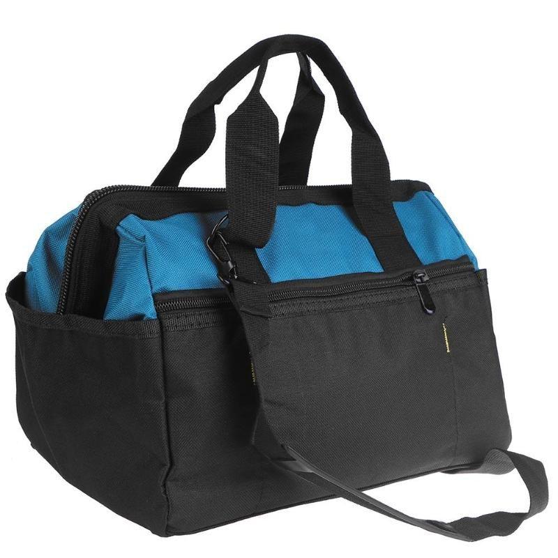 Multi-function Storage Tools Bag Waterproof Electrical Storage Bag Toolkit Zipper Handbag Utility Bag Electrical Package 14