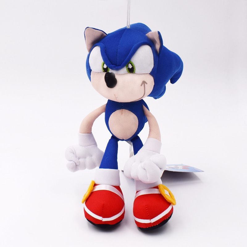 19cm Sonic Plush Toys Sonic Peluche Soft Stuffed Sonic Toy High Quality Baby Toy Free Shipping
