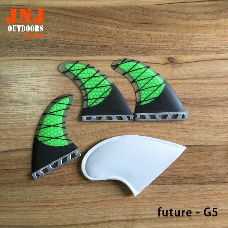FREE SHIPPING strongest fiberglass carbon future Tri-set M G5 fins for surf board future fins 3pcs a set