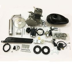 UPgraded 80cc 2-Stroke Engine Motor Kit for Motorized Bicycle Bike Gas Powered