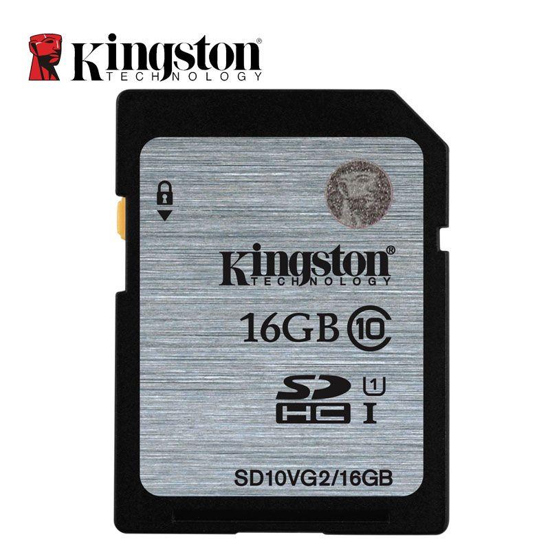 Kingston Numérique SD Carte Mémoire 8 GB 16 GB 32 GB 64 GB 128 GB SD Carte SDHC SDXC HC XC UHS-I HD Vidéo Classe 10 Cartao de Memoria SD