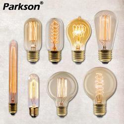 Edison Bulb E27 Retro Lamp 220V 40W Bombillas Ampoule Vintage Bulb Edison Lamp Incandescent Filament LED Light Bulb Home Decor