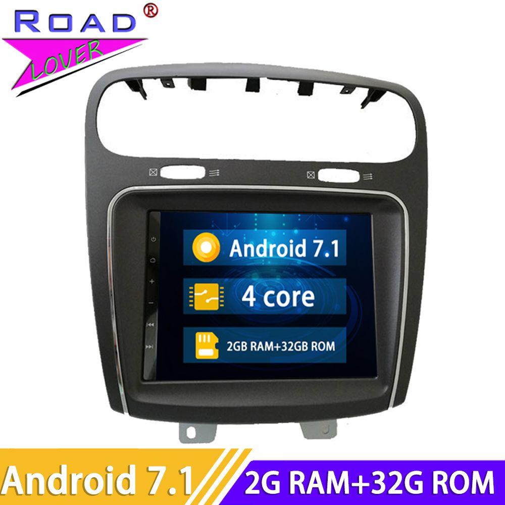 2 Din Android 7.1 Auto Radio Head Unit Autoradio-Player Für Fiat Leap Freemont Dodge Journey Stereo GPS Navigation Magnitol Video