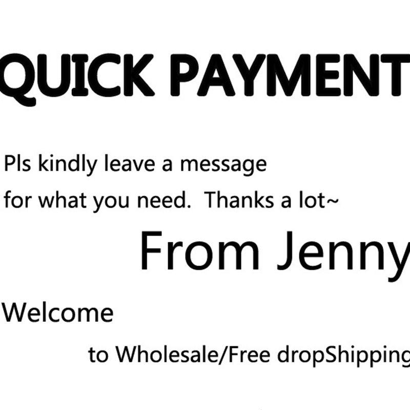 Paiement rapide merci pour le Shopping de JENNY pour le client VIP/livraison directe gratuite