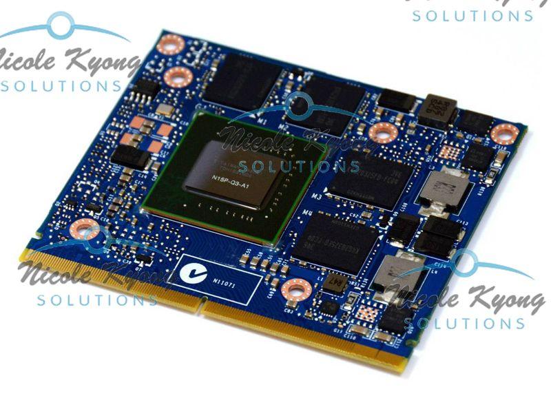 G4FN0 K2100M 2 GB N15P-Q3-A1 GDDR5 Vga-grafikkarte für Dell Precision M4800 M6800 & M4700 M6700