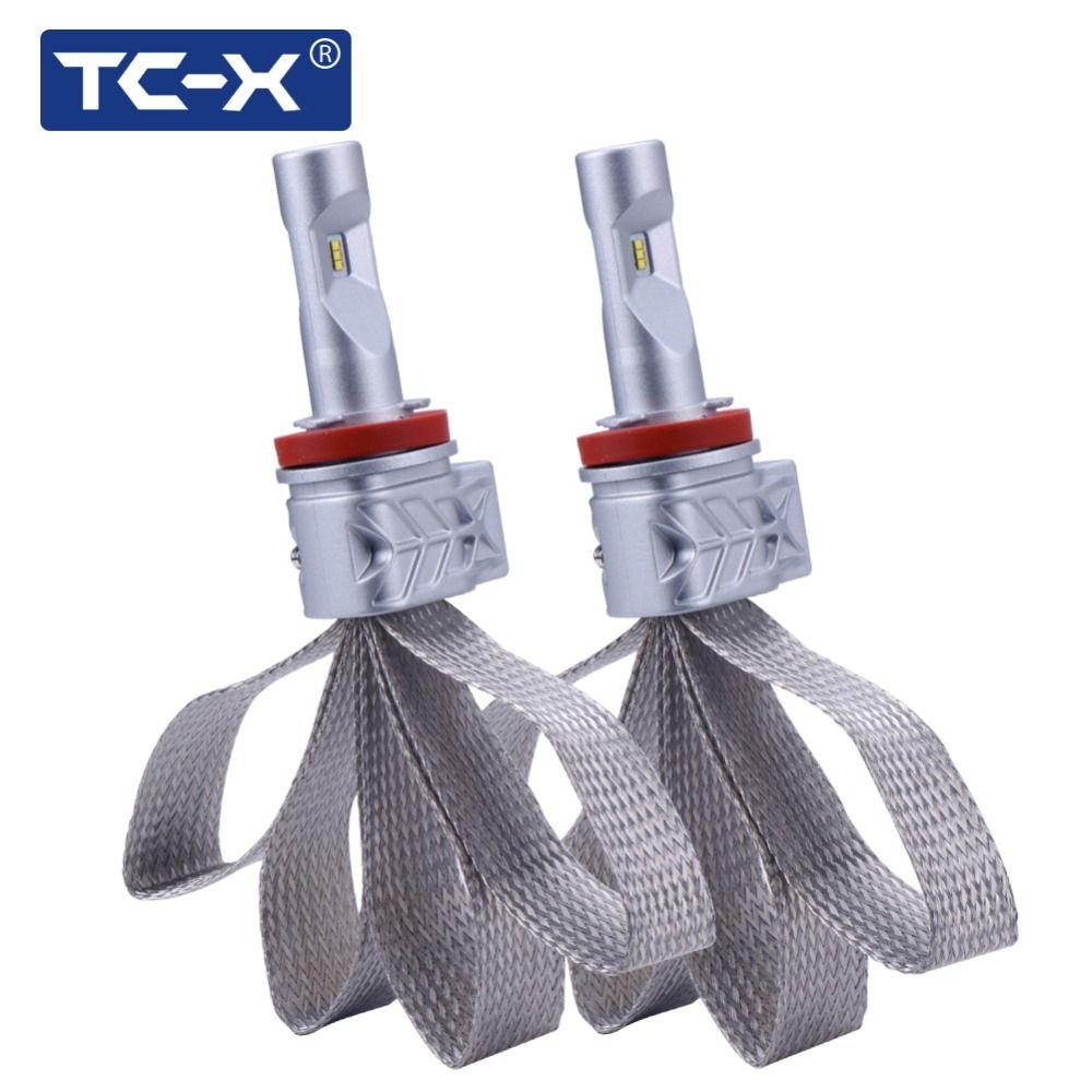 TC-X Super Bright H4 High/Low Border 4800Lumen <font><b>Luxeon</b></font> ZES H7 LED H11 9006/HB4 9005/HB3 PSX24W PSX26W LED Car Headlight Foglight