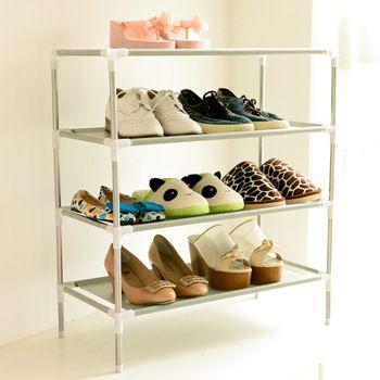 Armoire à chaussures Non-tissé Chaussures Racks De Stockage Grande Capacité Meubles de Maison BRICOLAGE Simple 5 couches Livraison Gratuite